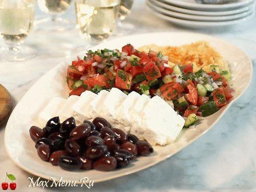 """Салат из свежих овощей """"Восточное ассорти"""""""
