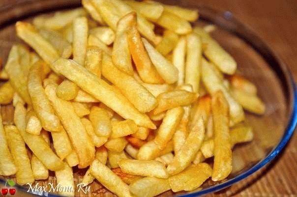 Домашняя картошка «фри»