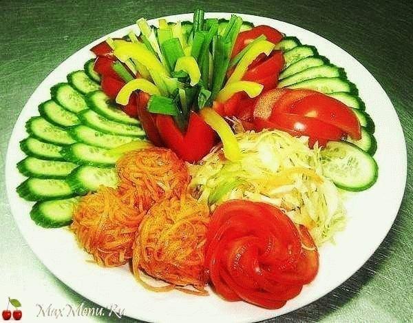 Овощные нарезки (часть 1)