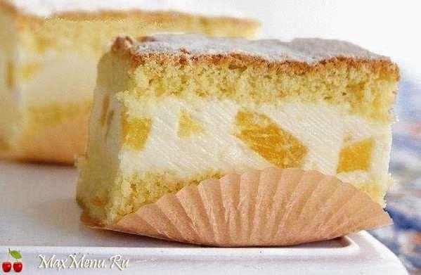 Торт с воздушным творожным кремом
