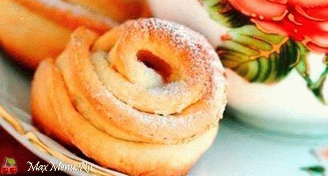 """Печенье из творога """"Творожные цветочки"""""""