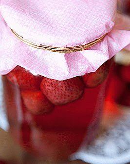 Заготовки из клубники на зиму: фото рецепты домашних закаток