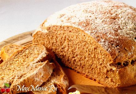 Скандинавский ржаной хлеб