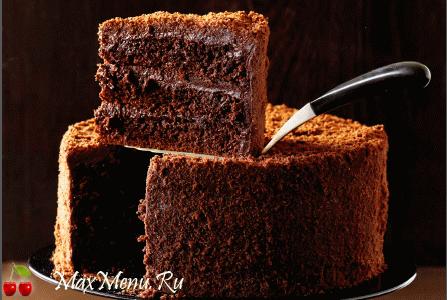Шоколадный торт «Черный Бруклин»
