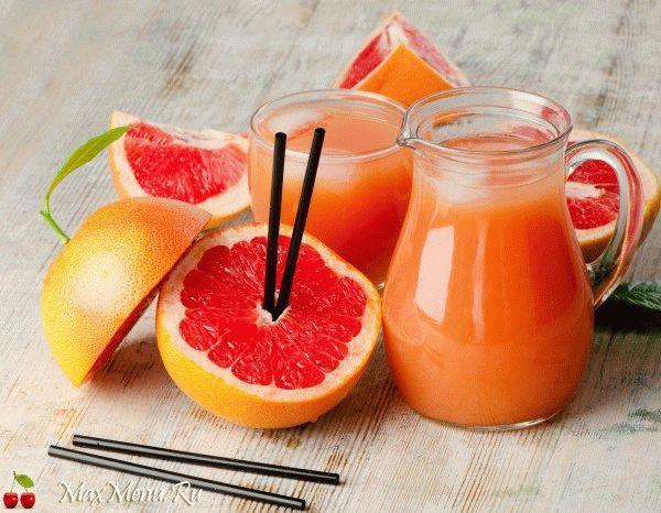 Грейпфрутовый коктейль для похудения