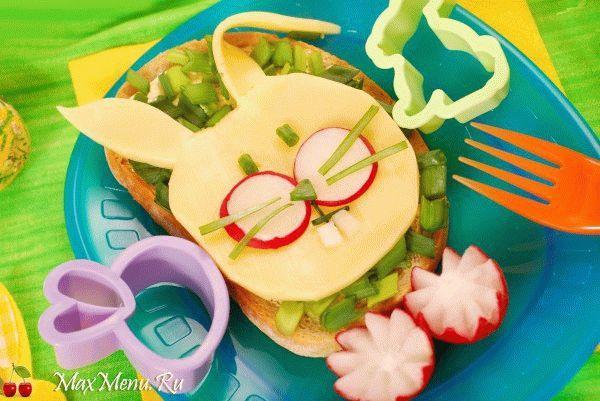 Как украсить детские блюда?