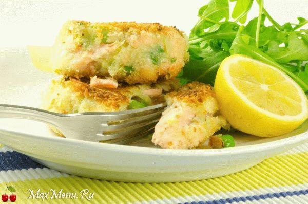 Картопляники с рыбой