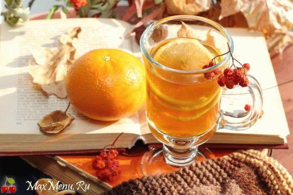 Мандариновый чай с пряностями
