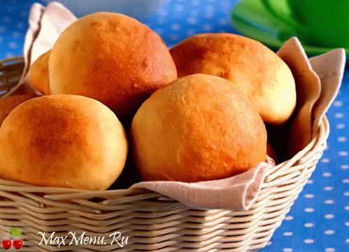 Медовые булочки за 30 минут