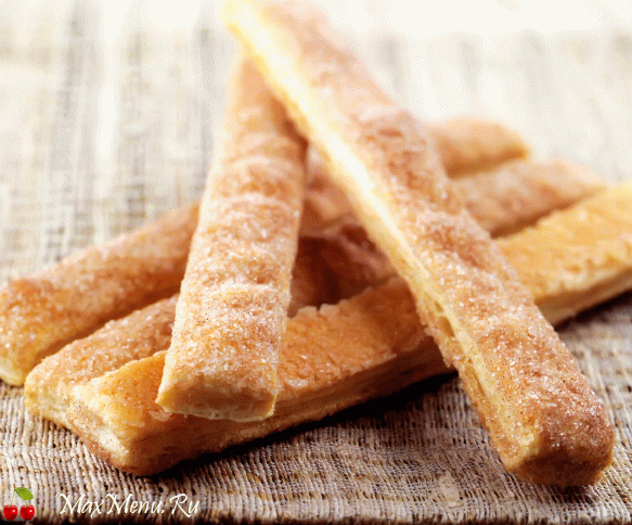 Палочки с коричным сахаром