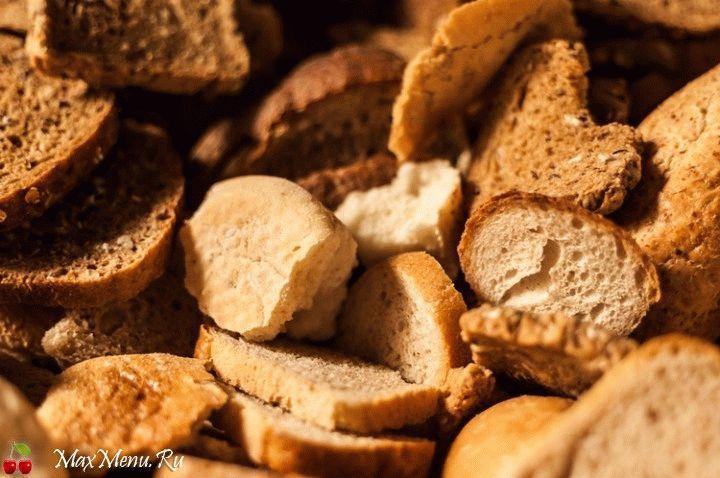 Что делать, если хлеб зачерствел