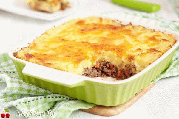 Картошка с мясом: рецепт вкусной картофельной запеканки