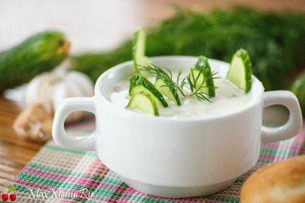 Белый суп: рецепт с плавленым сыром