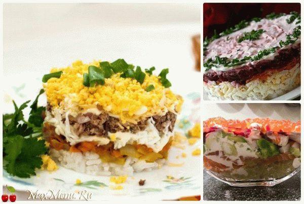 Что подать к столу: ТОП-5 рецептов слоеных салатов