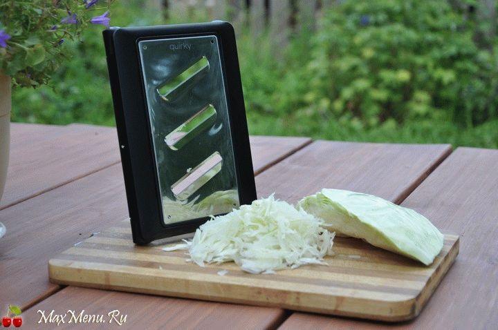 Как быстро нашинковать капусту