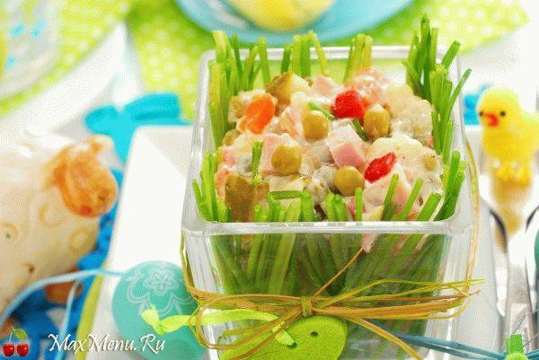 Пасхальный картофельный салат