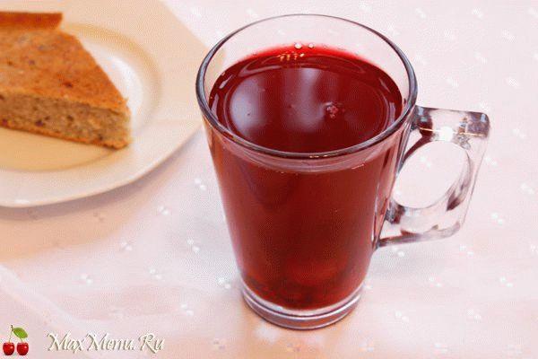 Рецепт компота из ягод и меда