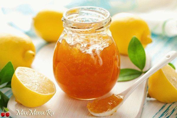 Рецепт мармелада из лимона
