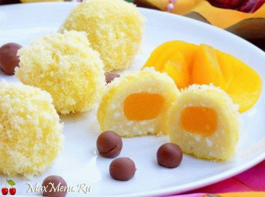 Детский творожный десерт «Солнышки»