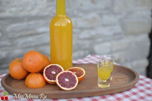 Домашний апельсиновый ликер