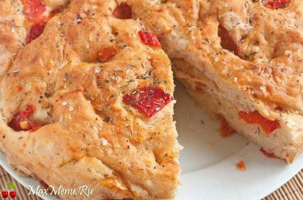Домашний хлеб с перцем