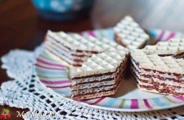 Как приготовить вафельный торт