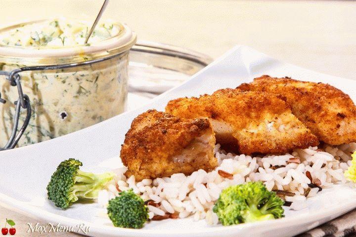 Рецепт наггетсов из рыбы