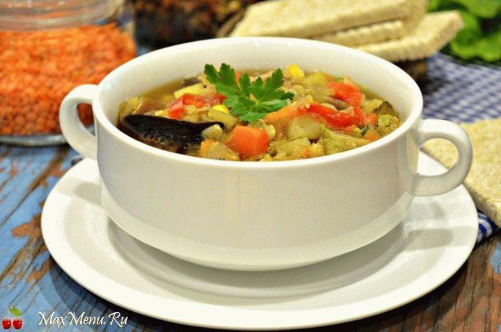 Рецепт овощного супа в мультиварке