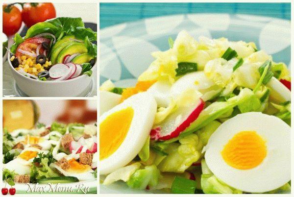 ТОП-5 вкусных весенних салатов с редиской