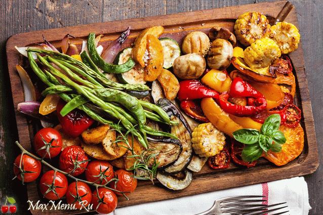 Рецепт овощей-гриль