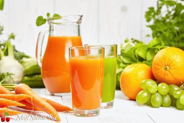 Апельсиново-морковный сок