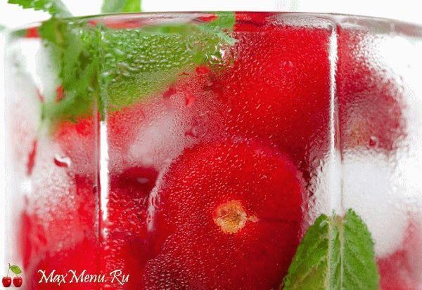 Домашний лимонад из черешни