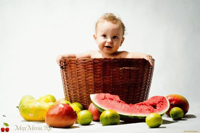 Какие фрукты можно давать ребенку до года