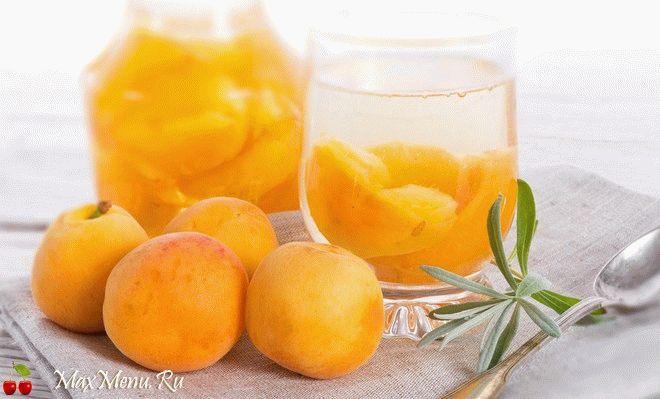 Компот из абрикосов: рецепт без стерилизации
