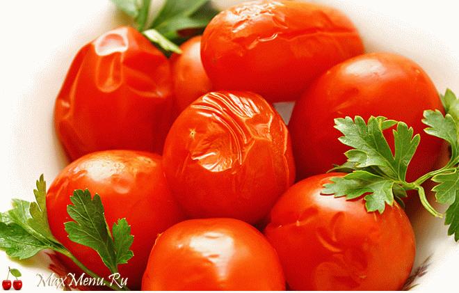 Малосольные помидоры: рецепт сухого посола