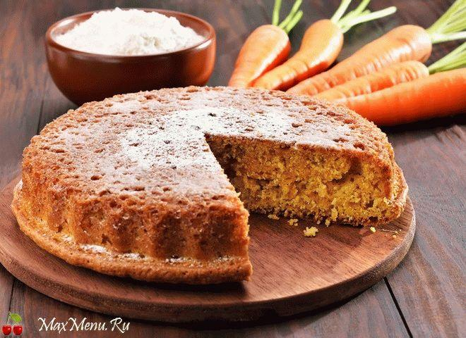 Рецепт манника с морковью