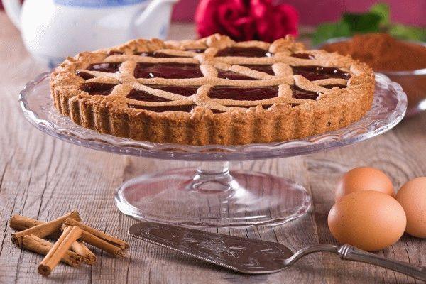 """Торт """"Линцер"""" с печеньем"""