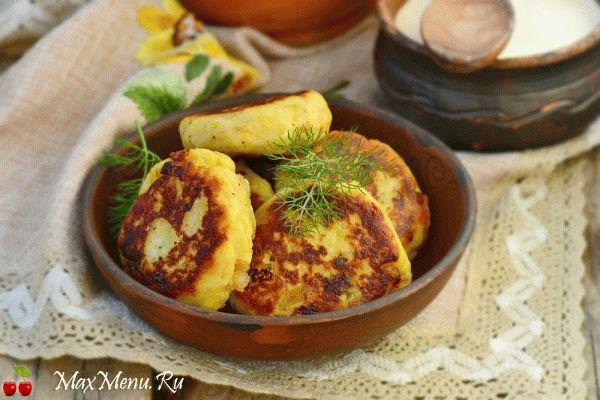 Картопляники с мясом