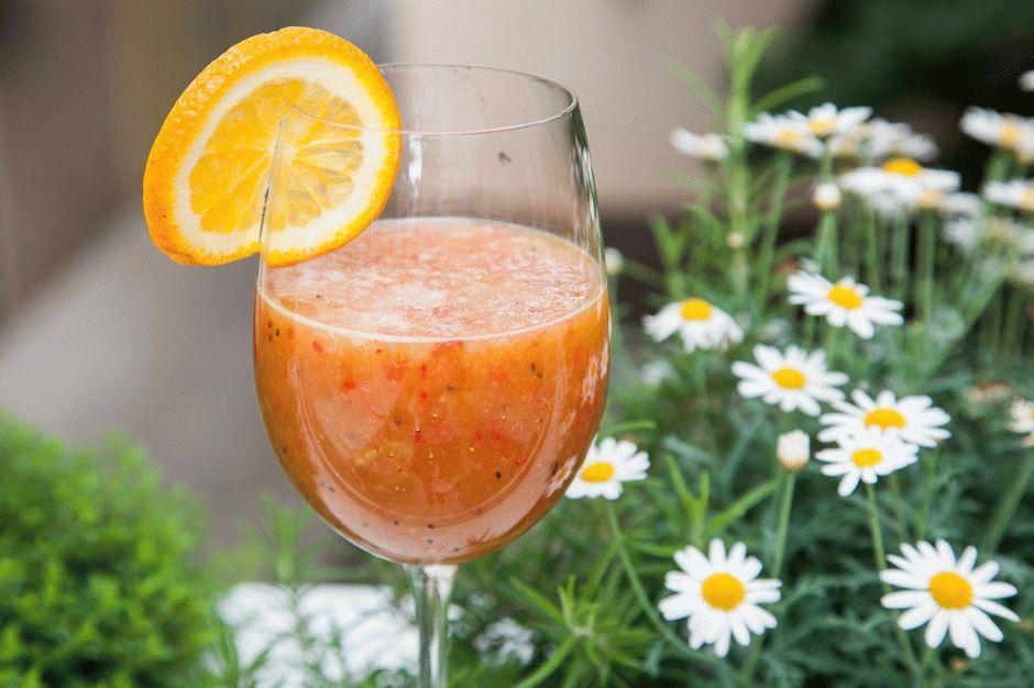"""Апельсиновый смузи """"Витамин С"""""""