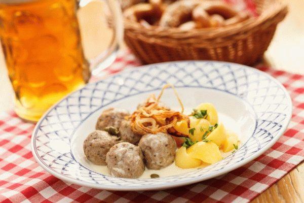 Мясные фрикадельки по-немецки