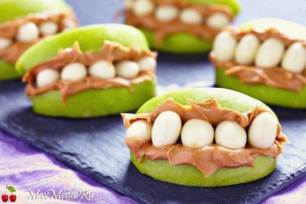Рецепты на Хэллоуин: Веселые челюсти