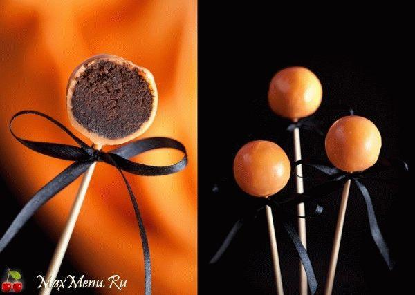 Шоколадные конфеты на Хэллоуин