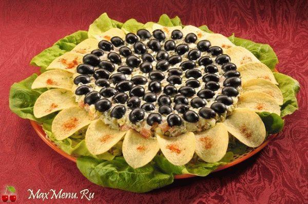 Salat-«Podsolnuh»-s-hrustjashhimi-chipsami