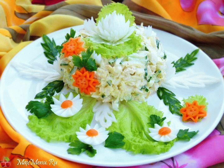 Салат с китайской капустой «Моника»