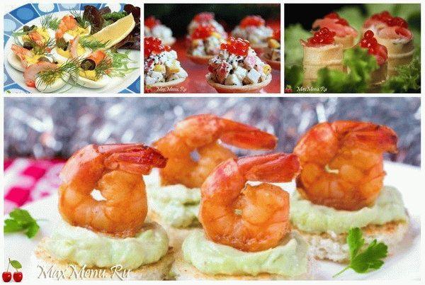 Закуски на Новый год 2016: ТОП-5 рецептов закусок из морепродуктов