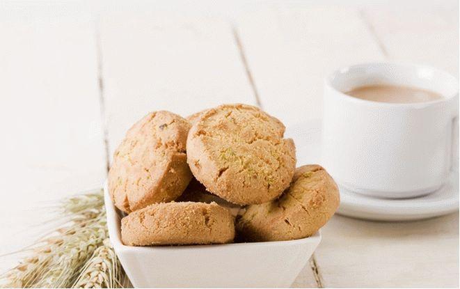 Печенье на скорую руку с орехами