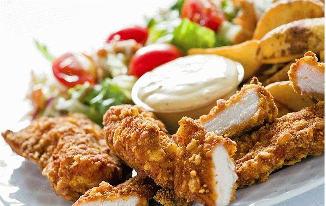 Рецепт курицы с грецкими орехами