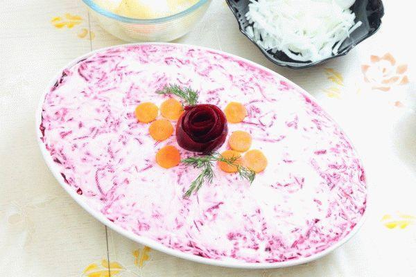 Селедка под шубой: рецепт классический
