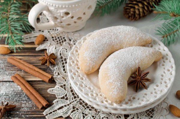 Новогоднее печенье «Рожки газели»