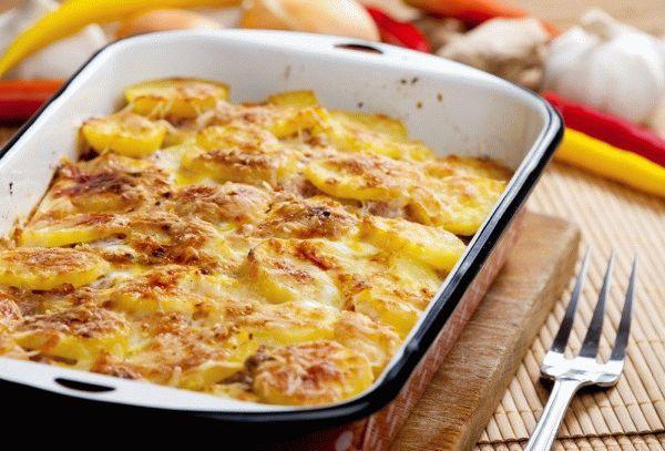 Картофельный гратен по-эльзасски
